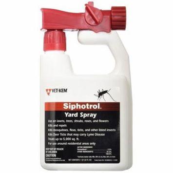 Vet Kem Siphotrol Yard Pest Control Spray 32-Ounce