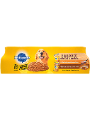 Pedigree® Wet Dog Food Chopped Ground Dinner Filet Mignon & Bacon Flavor and Bacon & Cheese Flavor