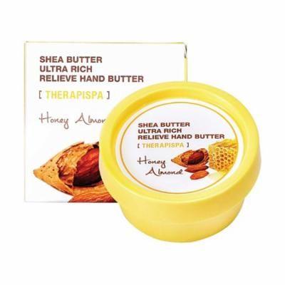 Therapispa Korean Cosmetics Ultra Rich Relieve Honey Almond Hand Butter, 2.4 oz