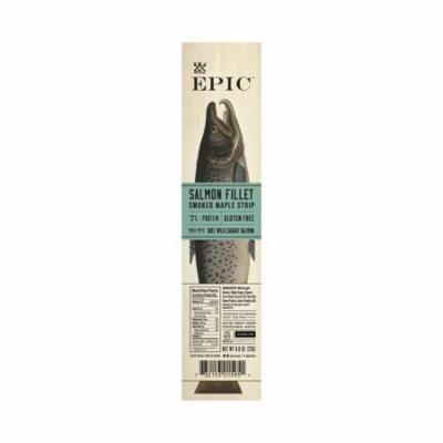 EPIC Salmon Fillet Smoked Maple Strips