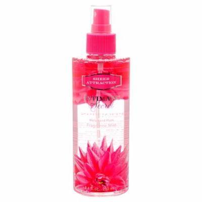 New 383125 Intimate Secret Body Mist Sheer Attraction 8.4Z (12-Pack) Perfume Cheap Wholesale Discount Bulk Health & Beauty Perfume Firesale