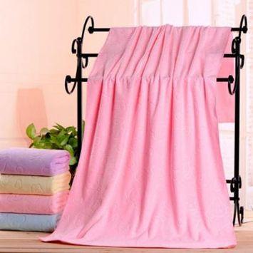 AkoaDa 1Pcs Cartoon Embossing Bear Bath Towel Soft Baby Kids Children Infant Washcloth Gift 70X140Cm