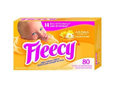 Fleecy Aromatherapy - Calme - 120 feuilles