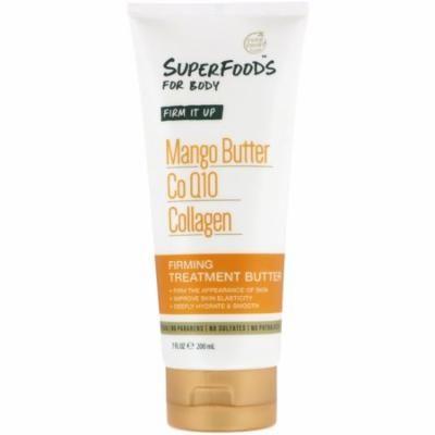 Petal Fresh Pure SuperFoods For Body Firming Treatment Butter Mango Butter CoQ10 Collagen 7 fl oz 200 ml