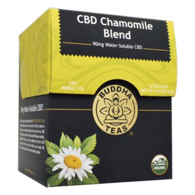 BUDDHA TEAS Chamomile CBD Blend Tea 18 BAG