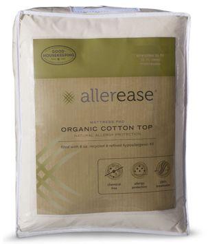 100% Organic Cotton Natural Protection Mattress Pad - Full