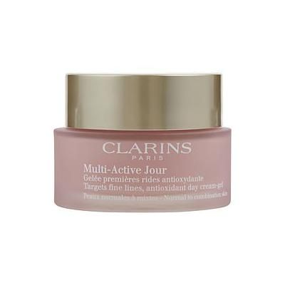 ( PACK 3) Clarins Multi-Active Jour Target Fine Lines Antioxidant Day Cream - Gel ( Normal to Combination Skin ) --50ml/1.7oz By Clarins