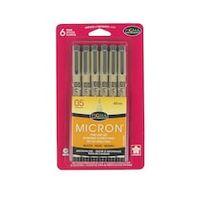 Pigma® Micron® 05 Fine Line Pens, Black