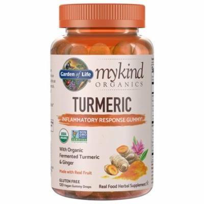 Garden Of Life mykind Organics Turmeric Inflammatory Response Gummy† 120 Vegan Gummy Drops
