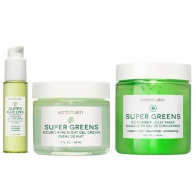 Earth to Skin Supergreens Skincare Set