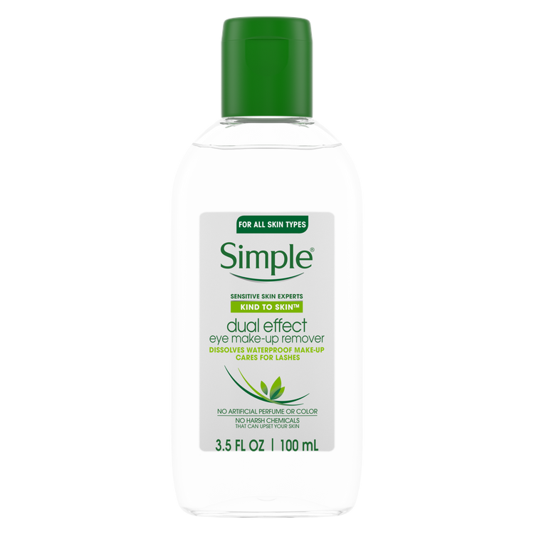 Simple® Kind to Skin Dual Effect Eye Make-up Remover