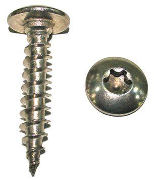 Sachet 8 vis tête cylindrique penture Torx inox A2 7x40 mm FORTFIX