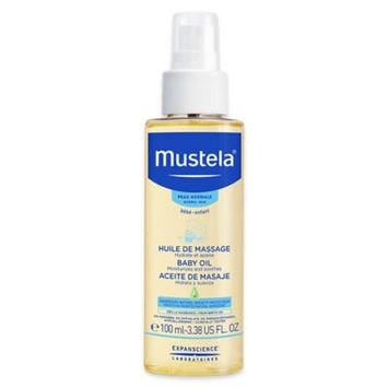 Mustela® 3.38 oz. Baby Oil for Normal Skin