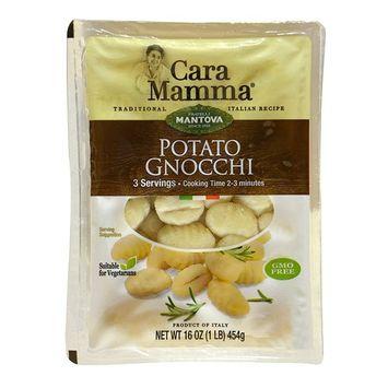 Mantova Basil Potato Gnocchi, 6 Pound (Pack of 6)