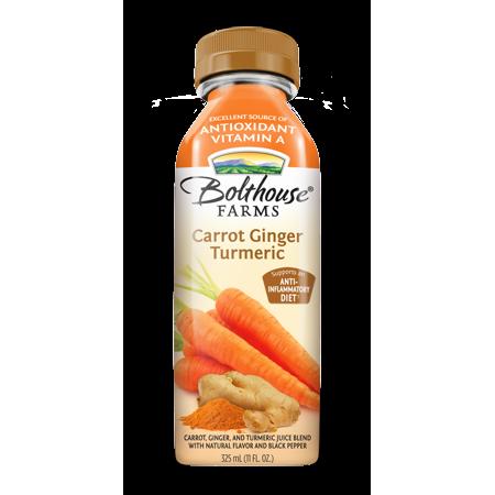 Bolthouse Farms Carrot Ginger Turmeric Juice, 11 oz