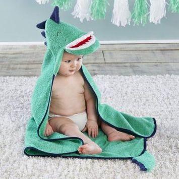 Dino Baby T-Rex Hooded Towel
