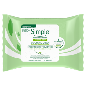 Simple Lingettes nettoyantes Kind to Skin