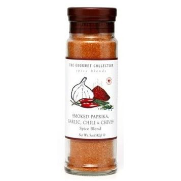 The Gourmet Collection, Smoked Paprika, Garlic, Chili & Chives Spice Blend (4.7 oz)