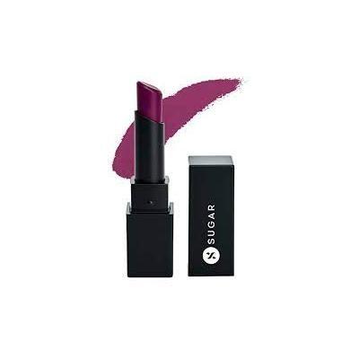 SUGAR Cosmetics Nothing Else Matter Longwear Lipstick - 20 Plum Alive (Deep Berry with cool undertone)