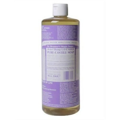 Dr. Bronner's Pure-Castile Liquid Soap Value Pack – Lavender 32oz. (2 Pack)