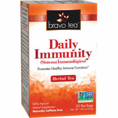 BRAVO TEA Daily Immunity Tea 20 BAG