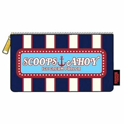 Loungefly Stranger Things Scoops Ahoy Zipper Cosmetic Pencil Case Bag