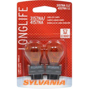 Sylvania Lighting 29-Watt Long Life 3157NA/4157NA Signal Bulb (2-Pack) 38167.0