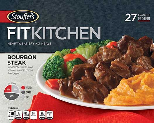 Stouffer's Fit Kitchen Bourbon Steak