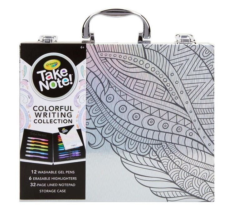 Crayola Take Note Colorful Writing Collection
