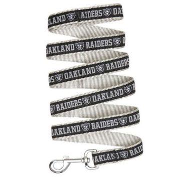 Pets First NFL Oakland Raiders Pet Leash, Large