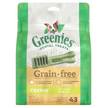Greenies Grain Free Dental Treats for Dogs