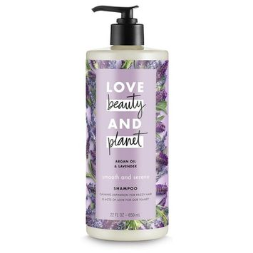 Love Beauty And Planet Smooth and Serene Argan Oil & Lavender Shampoo