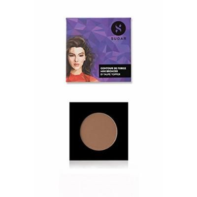 SUGAR Cosmetics Contour De Force Mini Bronzer 01 Taupe Topper (Brown Gray), 4 g