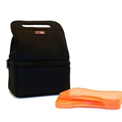 Lava Lunch Heated Lunch Kit in Black