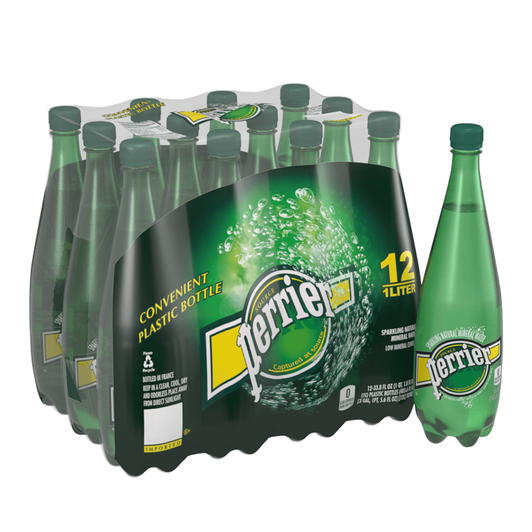 Perrier Sparkling Carbonated Mineral Water - Original