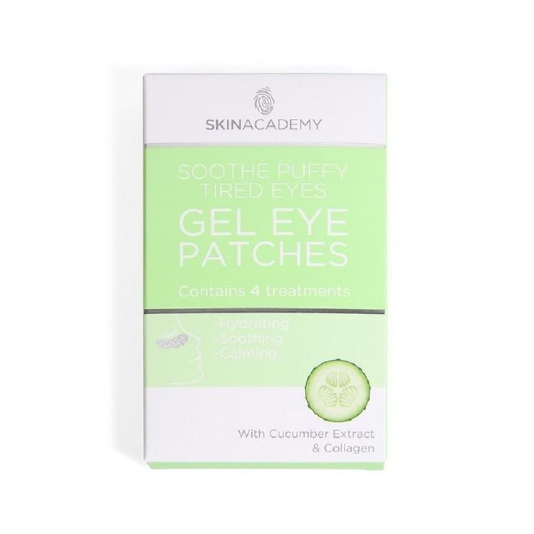 4 Treatments Gel Under Eye Patches Hydrates/soothes/calms Tired Eyes Patch/mask