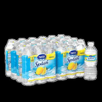 Nestl Splash Lemon Flavored Water, 16.9 Fl Oz, 24 Count