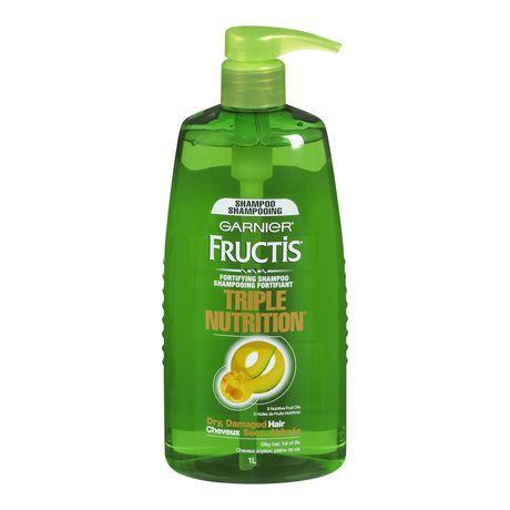 Garnier Fructis, Triple Nutrition Shampoo, 1 L