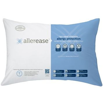Hot Water Washable Pillow, Firm - Standard