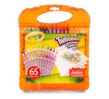 Crayola Twistables Colored Pencil & Paper Set