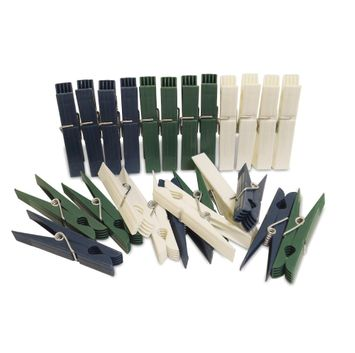 Plastic Clothespins 24 Count