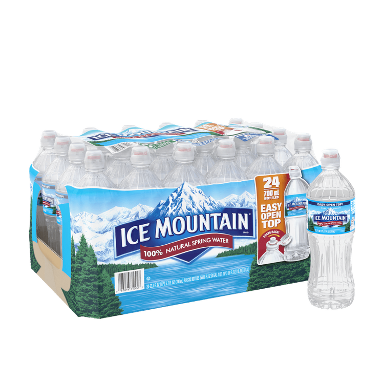 Ice Mountain 100% Natural Spring Water Sport Cap