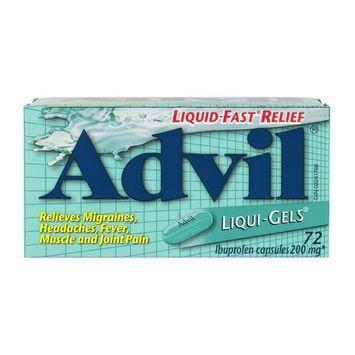 Advil Liqui Gels 72's
