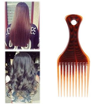 Alonea Professional Afro Styling Combs Hairdressing Curly Hair Brush Styling Pick