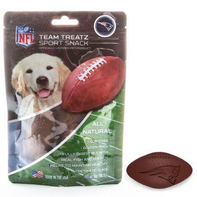 NFL New England Patriots 7 oz. Dog Treats