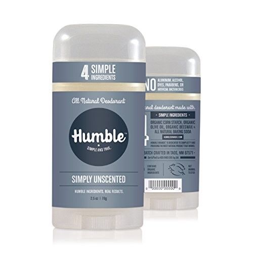 Humble Simply Unscented All Natural Deodorant