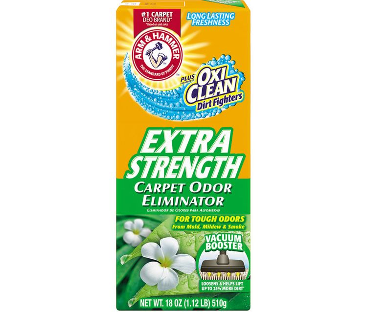 ARM & HAMMER™ Plus OxiClean™ Dirt Fighters Carpet Odor Eliminator, Extra Strength