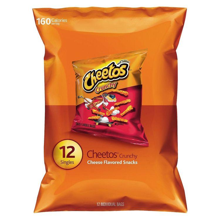 Doritos Cheetos Crunchy Cheese Flavored Snacks 12 ct