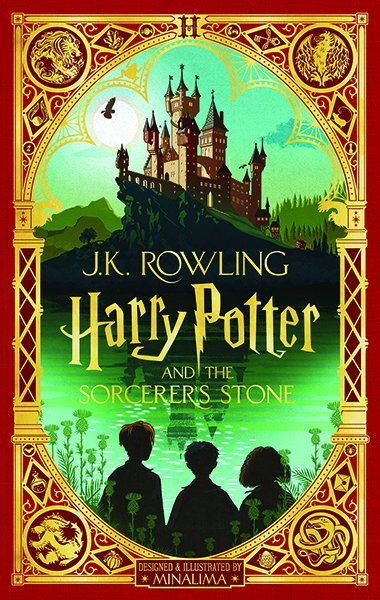 Harry Potter and the Sorcerer's Stone: Minalima Edition (Book 1), Volume 1 - by J K Rowling (Hardcover)