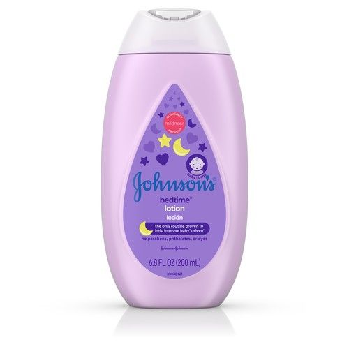 Johnson's Bedtime Baby Lotion with NaturalCalm Essences, 6.8 fl. oz [multipack_quantity: multipack_quantity-1]
